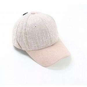 David & Young Light Pink Adjustable Baseball Cap
